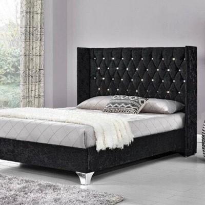 Classic Black Bed