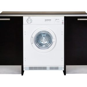 Integrated furniture dryer in white