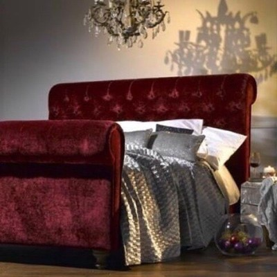 Red Royal Bed