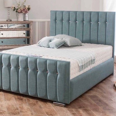 Classy Turquoise Bed
